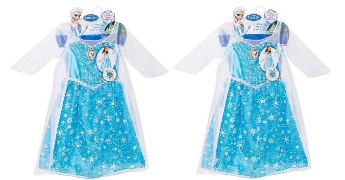 Disney Frozen Elsa Musical Light-Up Dress Only $13.99! Down From $40!