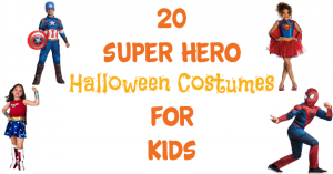 20 Super Hero Halloween Costumes For Kids!
