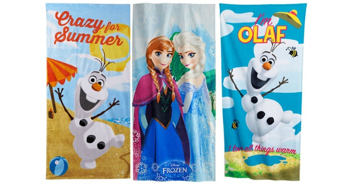 Disney Frozen Beach Towels Only $3.63 Shipped! Down From $26!