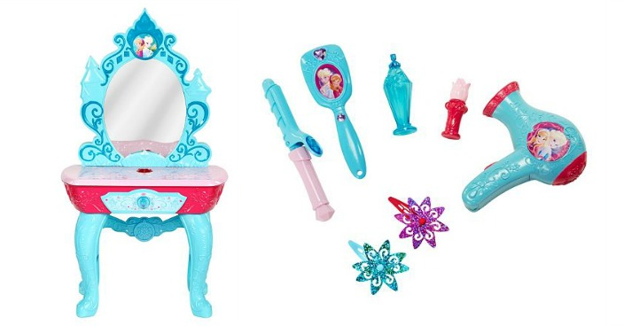 Disney's Frozen Beauty Vanity Only $20.40! Down From $80!