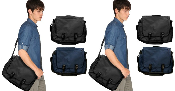 Over-the-Shoulder Messenger Bag Just $8.99! Down From $30! Ships FREE!