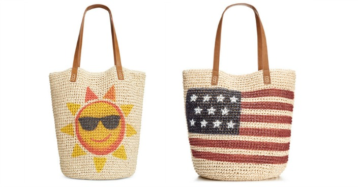 Straw Beach Bags Only $9.59! Down From $62.50!