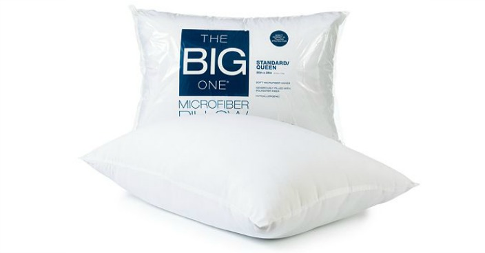 The Big One Microfiber Pillow Only $2.54! Down From $12!