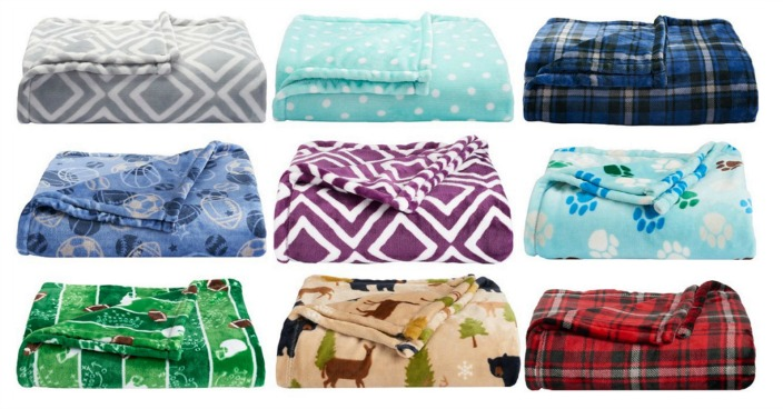 The Big One Super Soft Plush Throws Only $8.49! Down From $40!