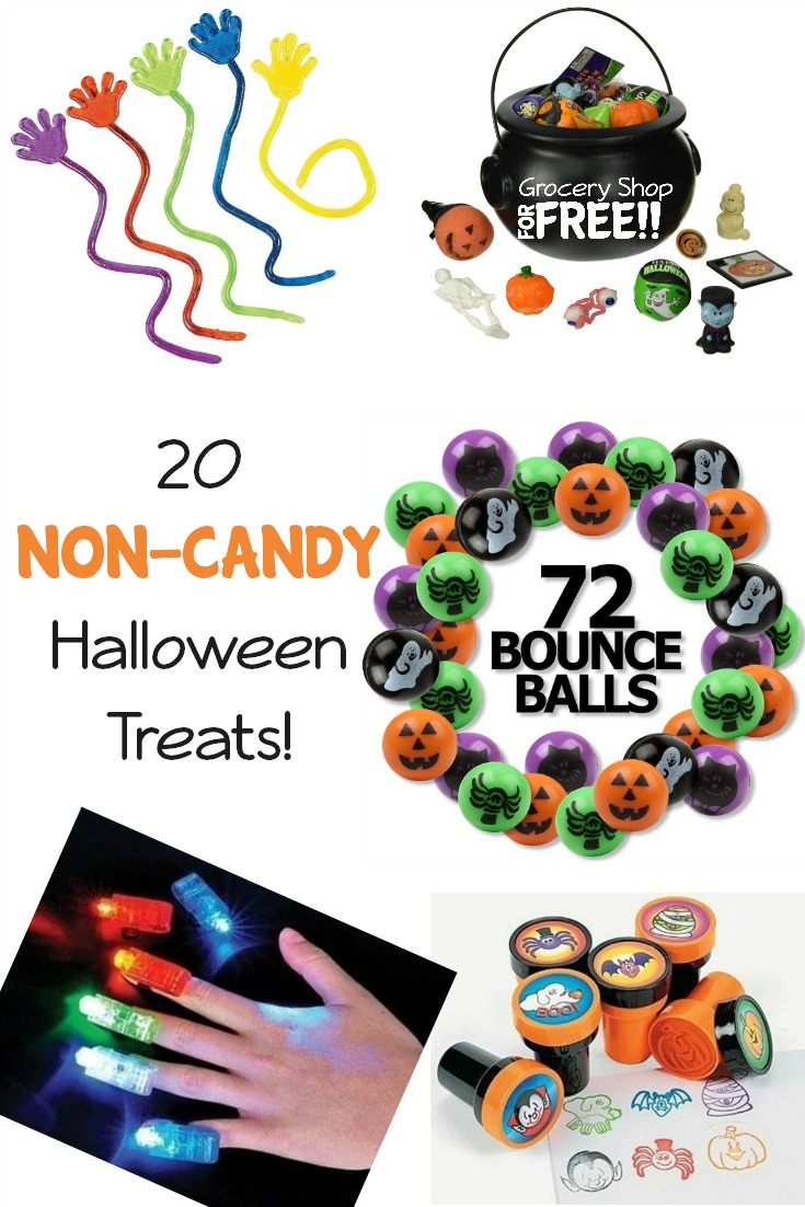 Looking for an alternative to candy this Halloween? Why not try these treats instead?