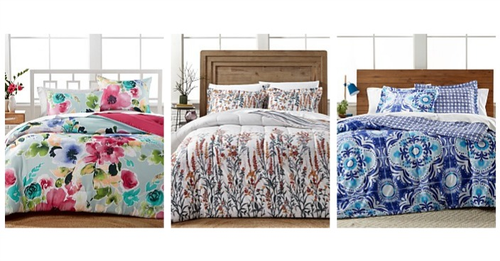 3-Piece Comforter Sets Only $19.99! Down From $80!