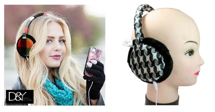 David & Young Fashion Headphone Ear Muffs Just $8.99! Down From $40! Ships FREE!
