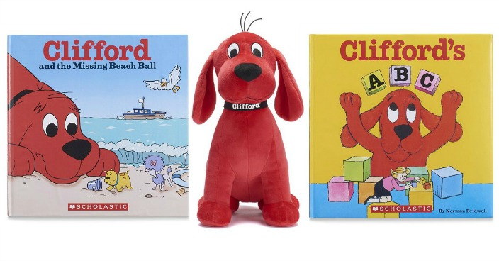 Kohl's Cares Clifford Books & Plush Only $3.50!
