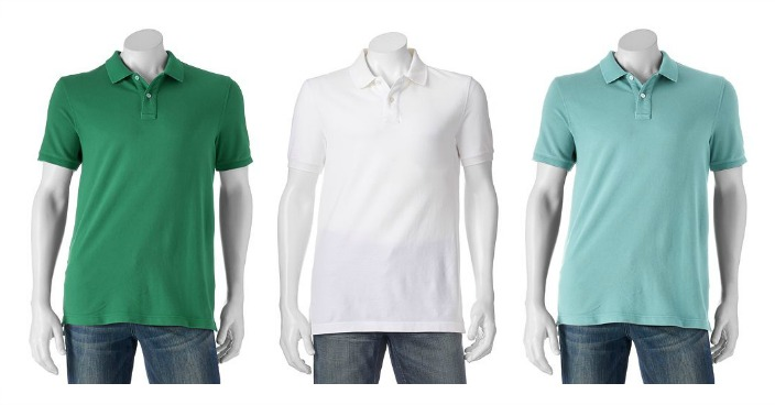 Men's Polo Shirts Only $4.66! Down From $30!