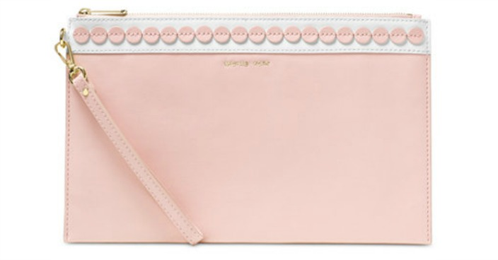 Michael Kors Analise Extra Large Zip Clutch Only $41.40! Down From $138!