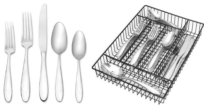 Oneida Landon 42-pc. Flatware Set Only $55.99! Down From $150!
