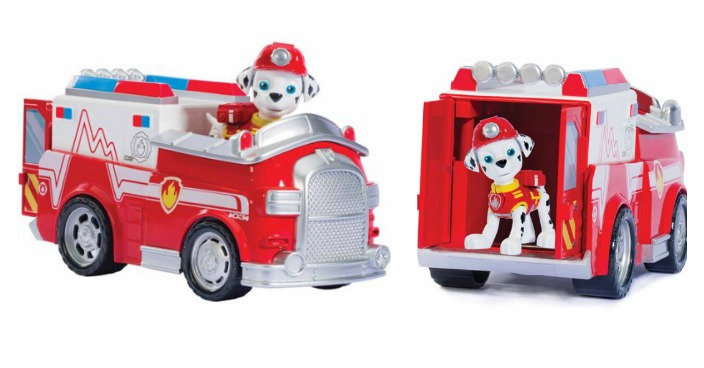 Paw Patrol Marshall's Firetruck Just $9.43! Down From $15!