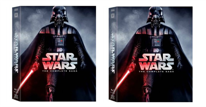 Star Wars: The Complete Saga Blu-ray Just $59.99! Down From $140!
