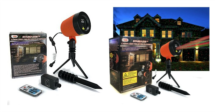 StarGazer Laser Light Holiday Projector Just $37.99! Down From $75!