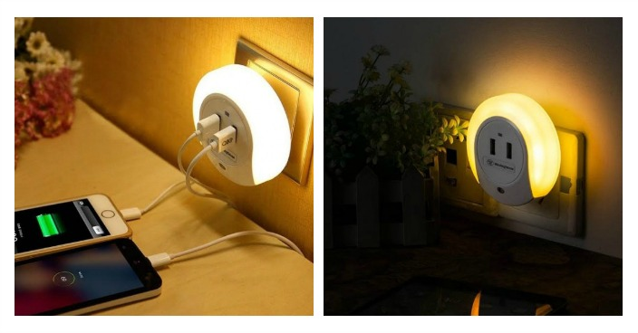 Westinghouse LED Night Light With USB 2 Pack Just $14.99! Down From $65! Ships FREE!