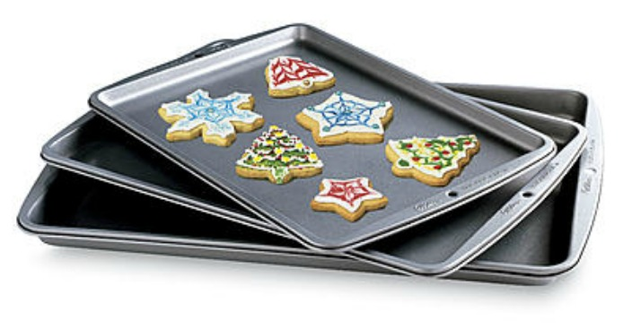 Wilton Baking Basics 3-pc Cookie Sheets Just $7.18! Down From $18!