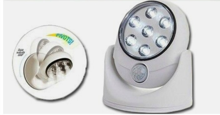 Wireless Motion Sensor 7 LED Safety Light Just $7.99! Down From $30! Ships FREE!