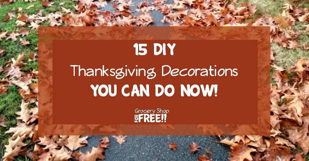 Thanksgiving Decorations You Can Make : Diy thanksgiving decorations