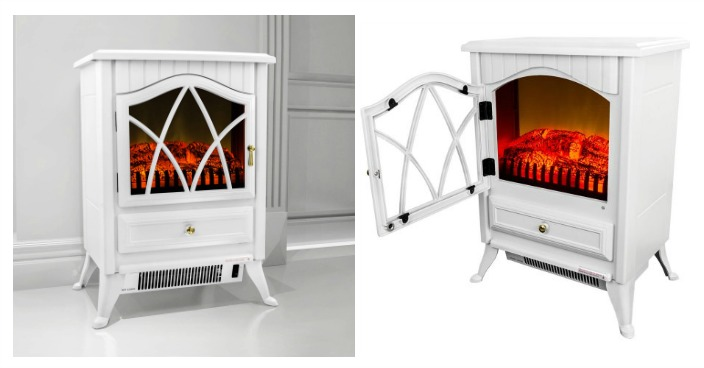 AKDY Freestanding Electric Fireplace Just $99 Down From