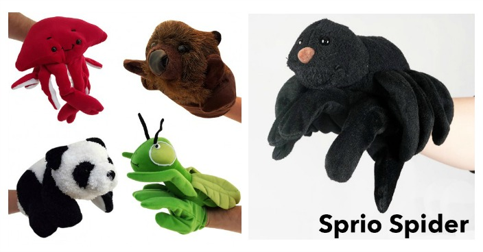 Adorable Animal Hand Puppets Just $4.99! Down From $20! Ships FREE!