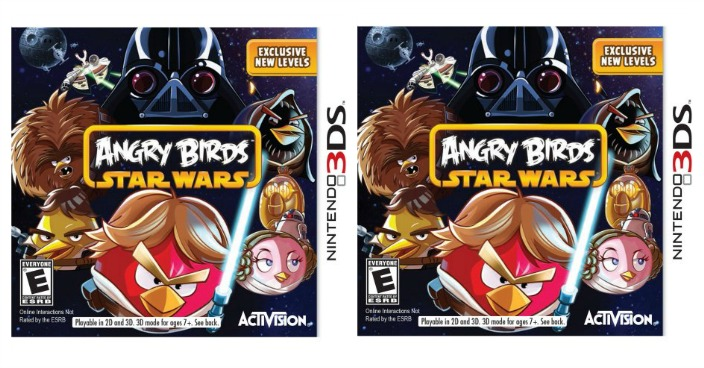 Angry Birds Star Wars Nintendo 3DS Just $4.35! Down From $30!