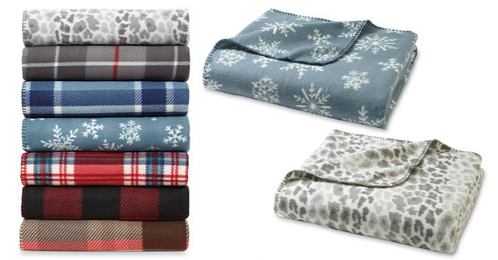Cannon Fleece Throws Just $1.99! Down From $8!