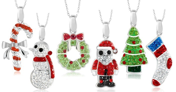 Christmas Holiday Crystal Necklaces Just $6.99! Down From $80! FREE Shipping!