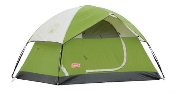Coleman Sundome 2-Person Dome Tent Just $25! Down From $56!
