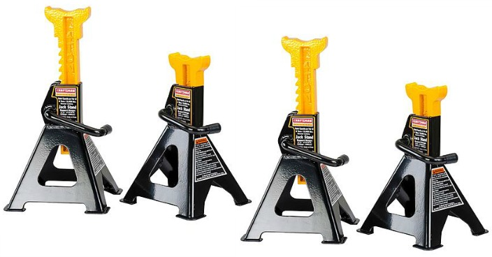 Craftsman Professional 4 -Ton Jack Stands Just $22.99! Down From $55!