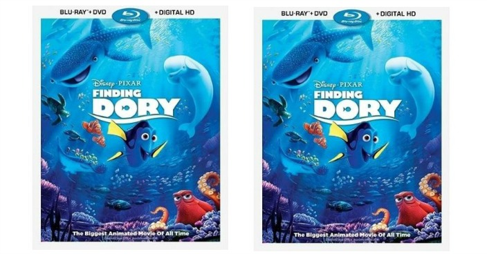 Finding Dory Blu-ray + DVD + Digital HD Just $15! Down From $40!