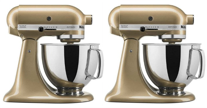KitchenAid Artisan 5-Quart Stand Mixer Just $102.99! Down From $350!