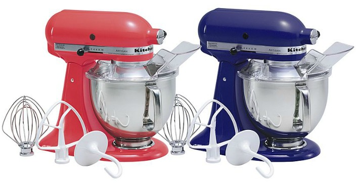KitchenAid Artisan 5-Quart Stand Mixer Just $139.99! Down From $350!