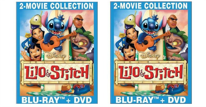 Lilo & Stitch / Lilo & Stitch 2: Stitch Has A Glitch Blu-ray + DVD Just $8.86! Down From $15!