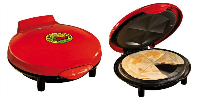 Nostalgia Electrics Quesadilla Maker Just $16.47! Down From $30!