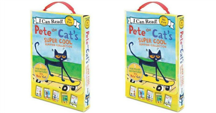 Pete the Cat's Super Cool Reading Collection Just $9.92! Down From $17!