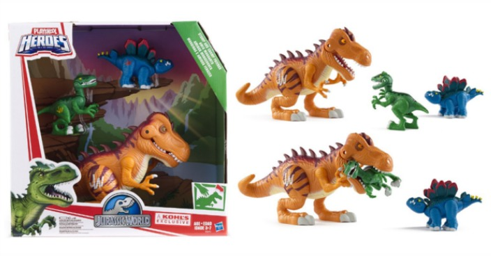 Playskool Heroes 3-Pc. Jurassic World Set Only $23.99! Down From $60!