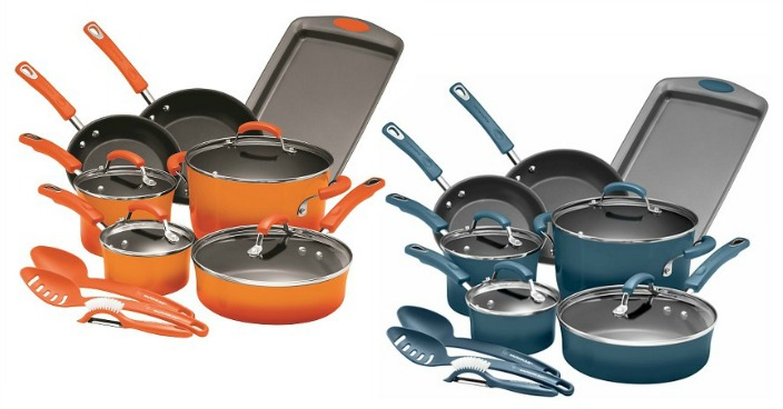 Rachael Ray 14 piece Cookware Set Just $89.99! Down From $150!