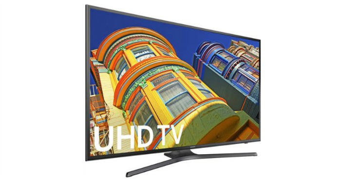 "Samsung 40"" 4K Ultra HD, Smart, LED TV Just $297.99! Down From $1,000!"