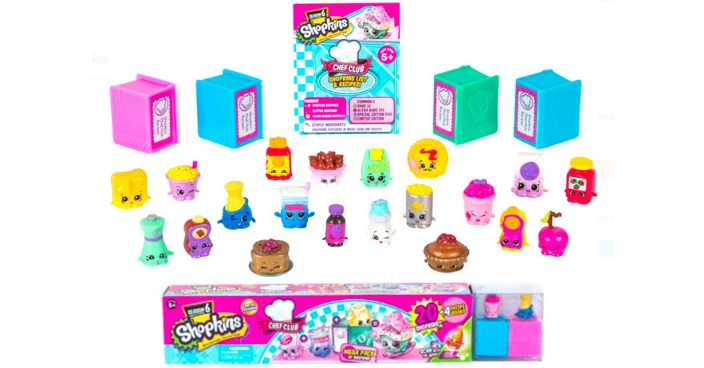 Shopkins Season 6 Chef Club Just $13.34!