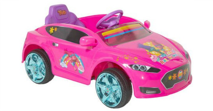 Trolls Battery-Powered Coupe Ride-On Just $79! Down From $149!