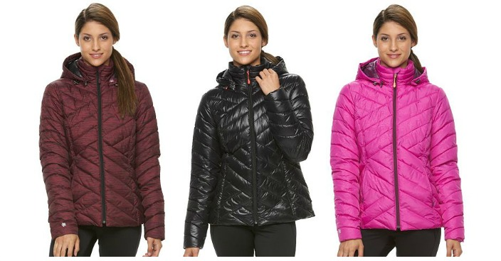 Women's Tek Gear Puffer Jacket Only $27.99! Down From $100!