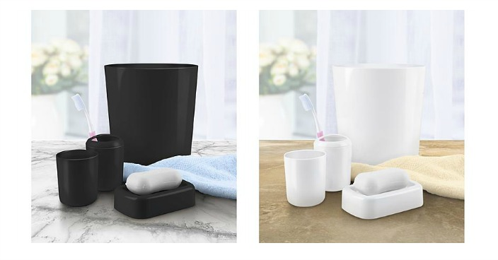 4-Piece Bathroom Accessory Set Only $2.24! Down From $5!