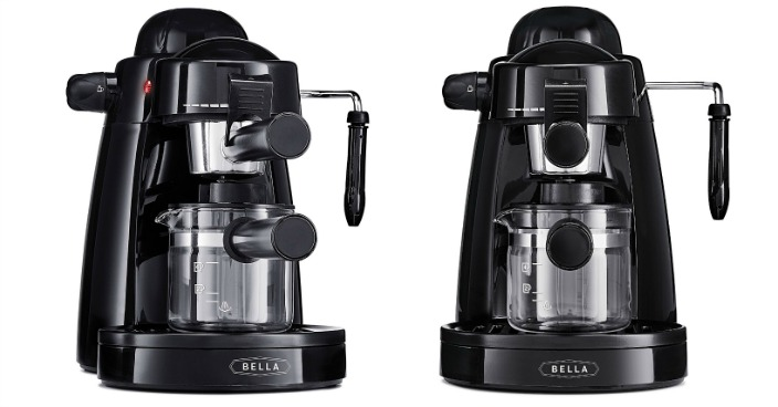 BELLA Personal Espresso Maker Just $27.81! Down From $85!