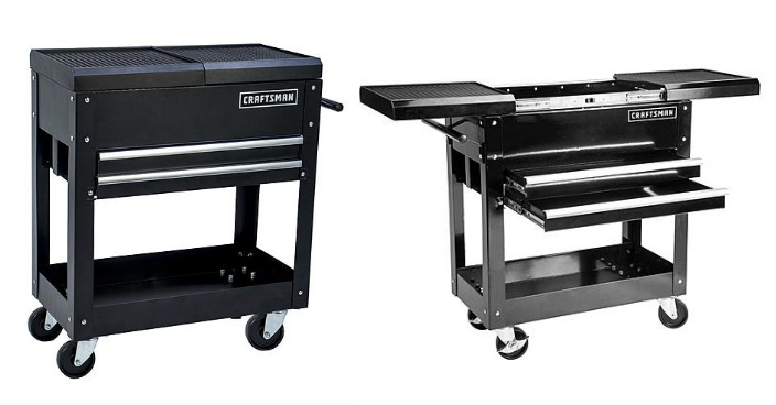 Craftsman 31-Inch 2-Drawer Mechanic Tool Cart Only $88.99! Down From $150!