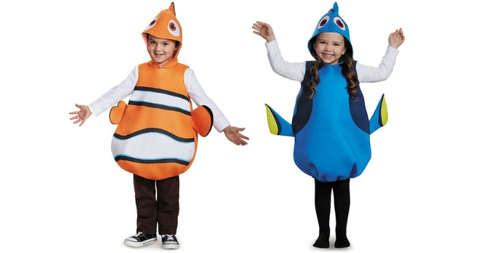 Finding Nemo or Finding Dory Kids' Costume Only $5.17! Down From $37!