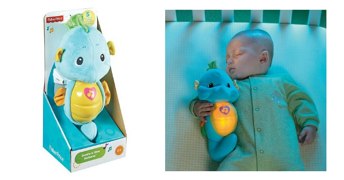 Fisher-Price Soothe & Glow Sea Horse Only $8.39! Down From $24!
