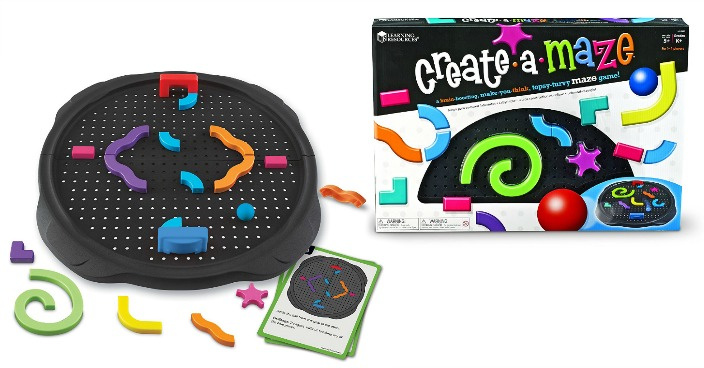 Learning Resources Create-a-Maze Just $6! Down From $30!