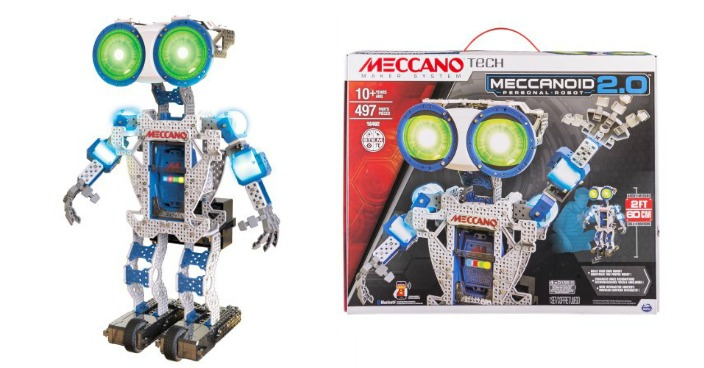 Meccano Meccanoid 2.0 Just $87.97! Down From $139!