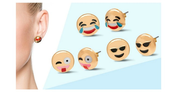 Original Emoji Earrings Just $8.99! Down From $50!