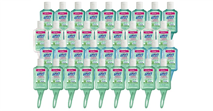 Purell Travel Sized Jelly Wrap Bottles Just $24! Down From $63!